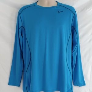 Nike Pro Combat Dri Fit Fitted Long Sleeve Shirt